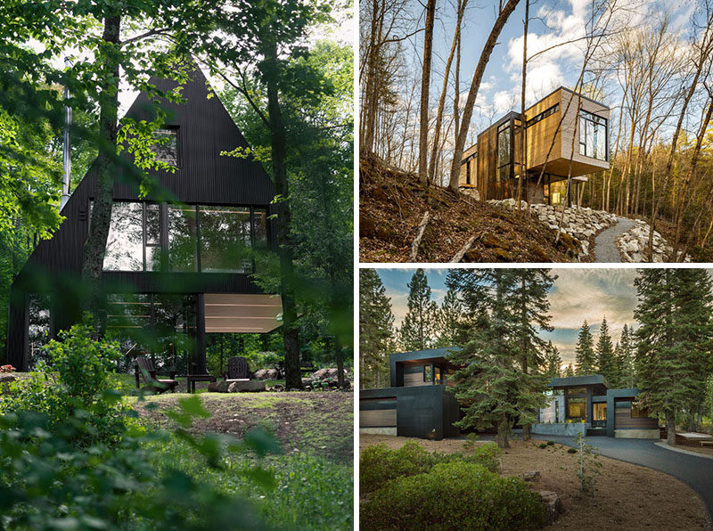 18 Modern Houses In The Forest