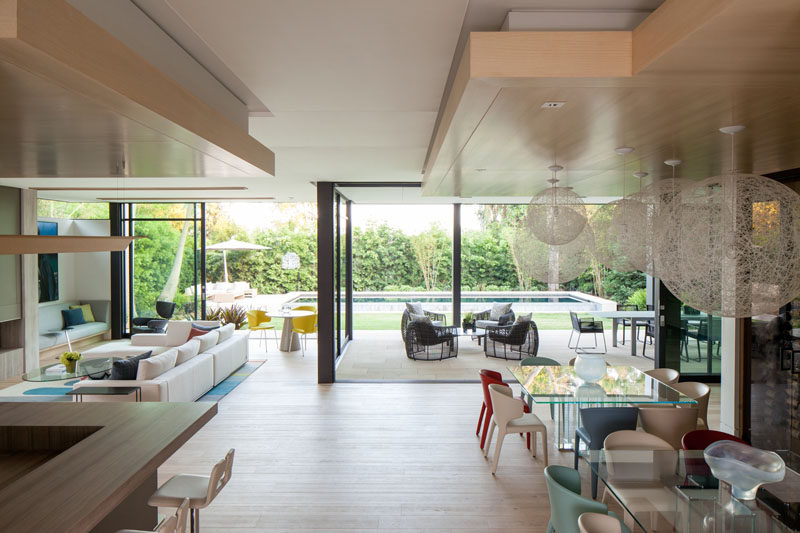 Large Windows Let Plenty Of Light Inside This New House In