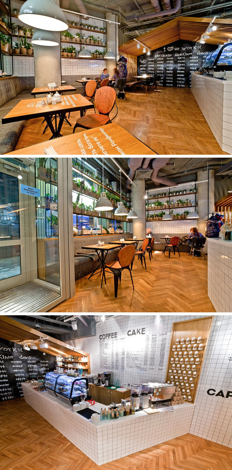 Unique Modern Cafe Interior Design Novocom Top