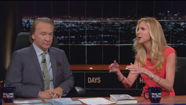 Ann coulter bill maher sex video