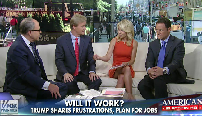'Fox & Friends' Hosts Believe Trump Will Be A Great President Because He Hates Mexicans