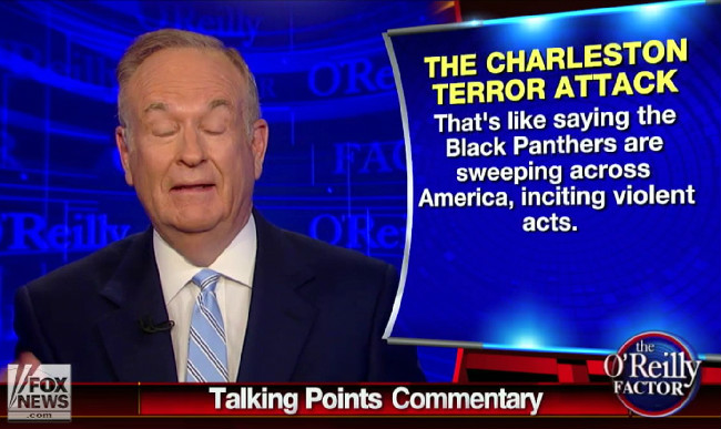 Bill O'Reilly Has Determined That Conservative Pundits Are The Real Victims Of Charleston
