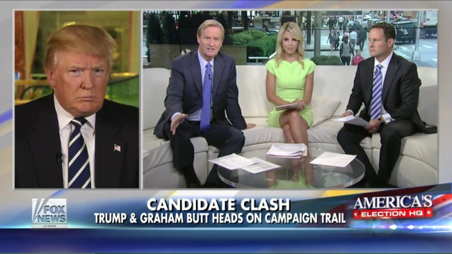 Fox News' Steve Doocy Tells Draft Dodger Donald Trump That He's Just Like A Navy SEAL