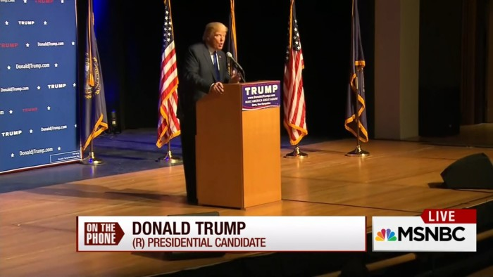 """Trump To 'Morning Joe': """"Having A Low Minimum Wage Is Not A Bad Thing For This Country"""""""