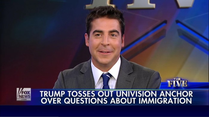 Does Fox News' Jesse Watters Have The Most Punchable Face In America?