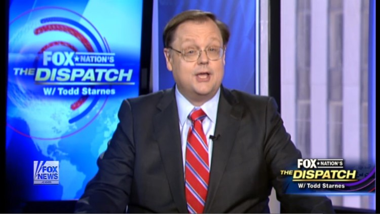 """Fox's Todd Starnes Says Progressives Are Just Like ISIS When It Comes To """"Cultural Cleansing"""""""