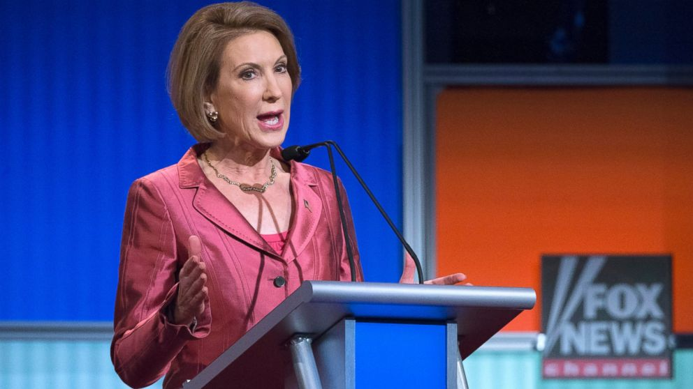 Carly Fiorina Has No Problem Playing The 'Woman Card' To Whine Her Way Into GOP Debate
