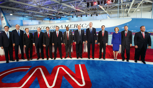 The Circus Is Back In Town! A Running Diary Of CNN's Very Classy And Huge GOP Primary Debate
