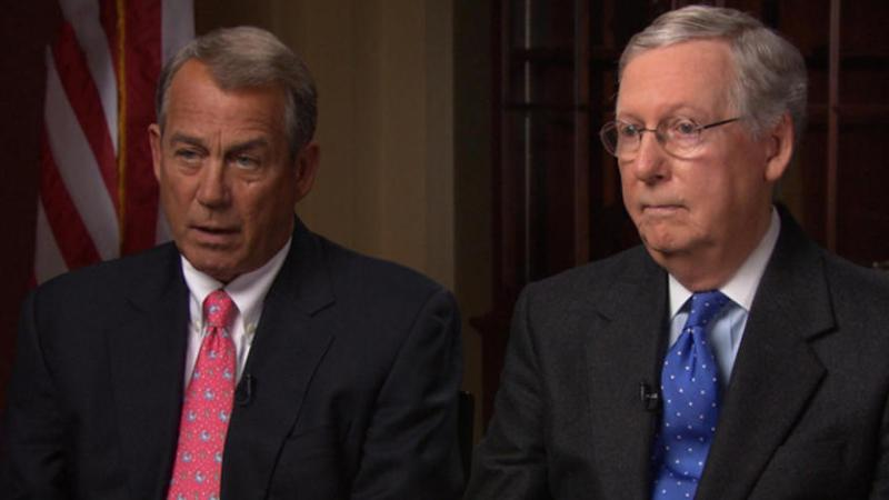 Donald Trump Crowns Himself King Of The GOP While Boehner And McConnell Are Shown The Door