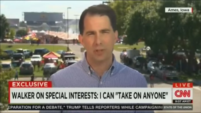 CNN's Jake Tapper Corners Scott Walker Over His Cozy Relationship With The Koch Brothers