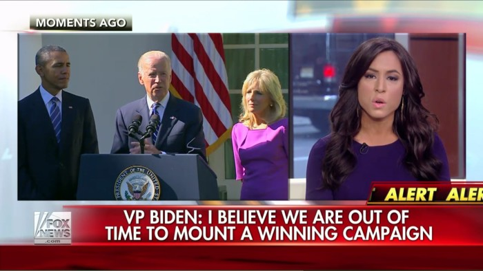 Fox's Andrea Tantaros Thinks Joe Biden's Speech Is All Part Of A Benghazi Conspiracy Coverup