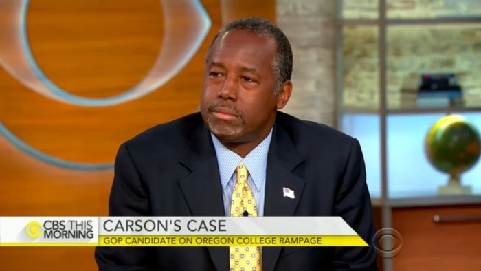 Ben Carson Continues To Blame Shooting Victims While Portraying Himself As A Fearless Hero