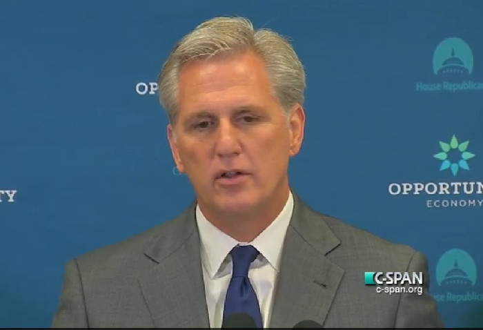 """Say What? Kevin McCarthy Tells Benghazi Committee Critics To """"Stop Playing Politics"""""""