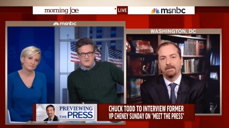 Due To Chuck Todd And 'Morning Joe,' MSNBC Finds Itself In Last Place Among Younger Viewers