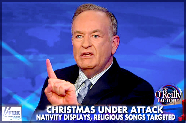 'Tis The Season For The Imagined War On Christmas