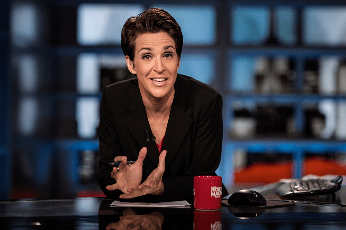 Maddow Begins New Year With Bang, Leads Cable News In Total Viewers And Demo