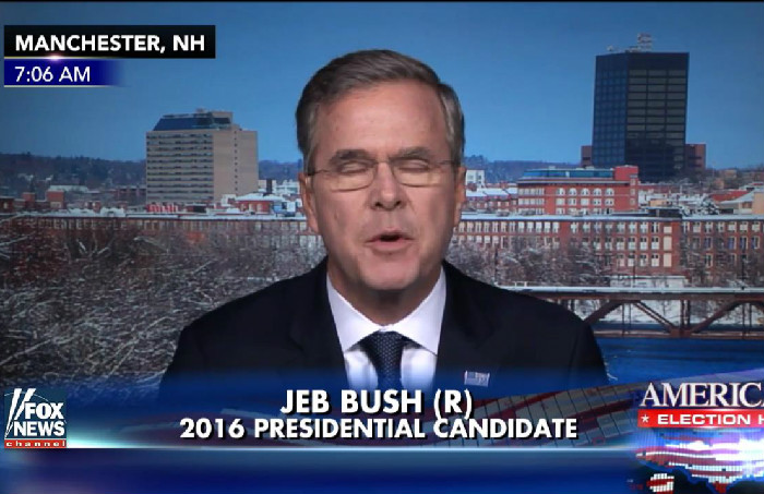 "Jeb Bush: I May Ask My Brother To Campaign For Me Because ""He Is Very Popular"""