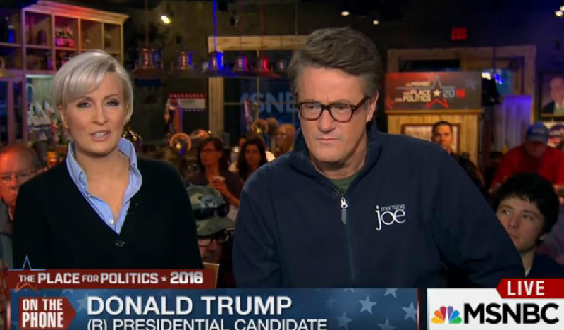 MSNBC Defends 'Morning Joe' Over Trump Hotel Room Story By Touting Show's Ratings