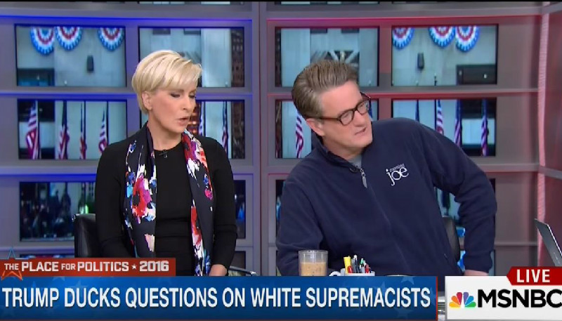 After Trump's Embrace Of The KKK, Morning Joe Can't Run Away From Him Fast Enough