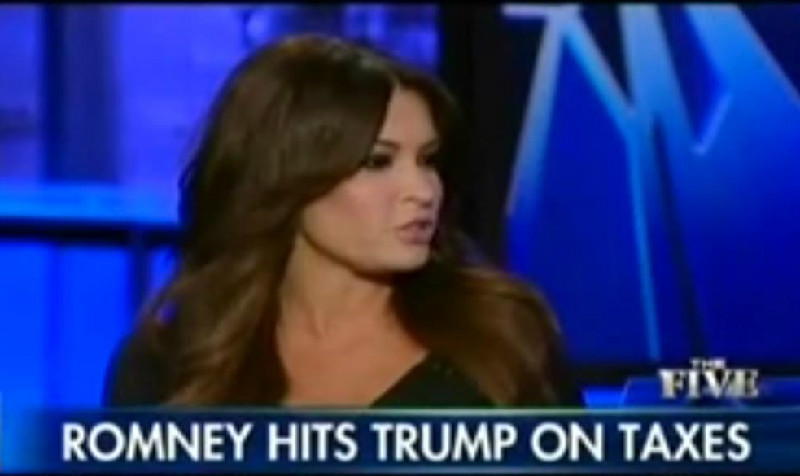 """Fox Host Says It's """"Discrimination Against Rich People"""" To Ask Trump For His Tax Returns"""