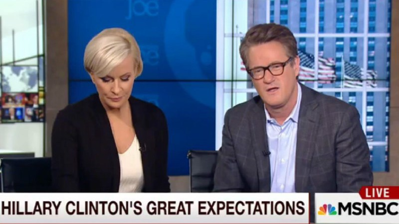 After Interviewing Trump And Sanders, Morning Joe Complains That Hillary Shouts Too Much