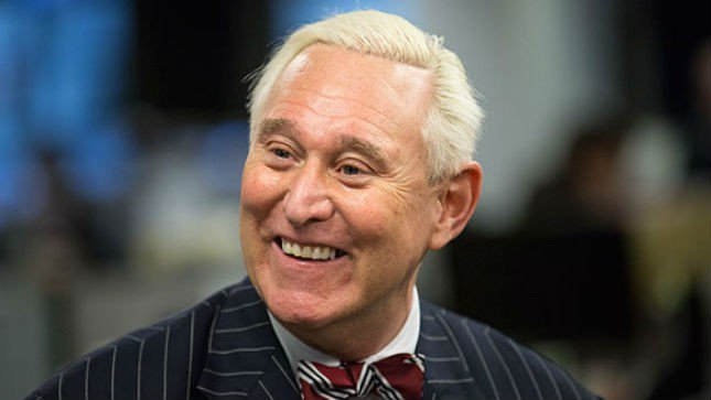 Entitled Trump Supporter Roger Stone Thinks It's His 1st Amendment Right To Be On Cable News