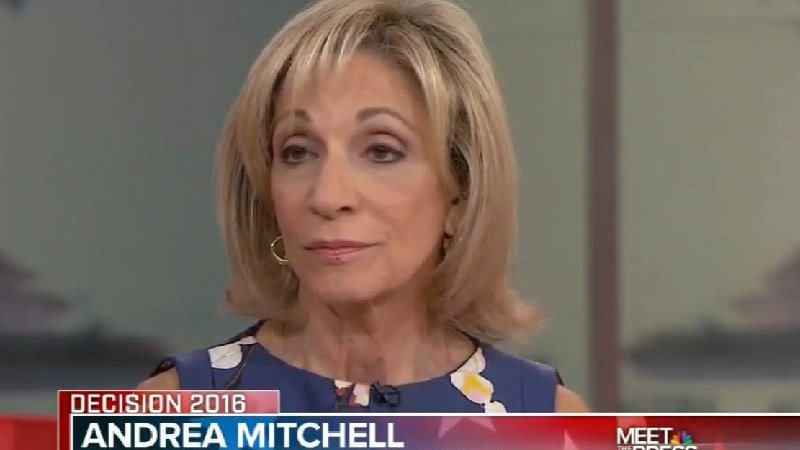 "Andrea Mitchell: Trump's ""Completely Uneducated About Any Part Of The World"""
