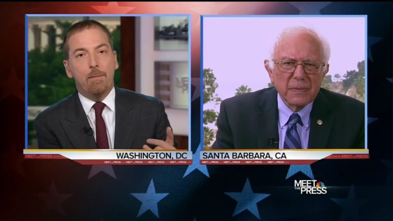 Chuck Todd Calls Out Bernie Sanders For Contradicting Himself On Superdelegates