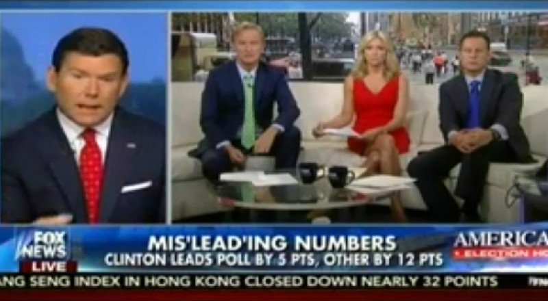 Deja Vu All Over Again: Fox News Helps Trump Push Theory That Polls Are Skewed Against Him