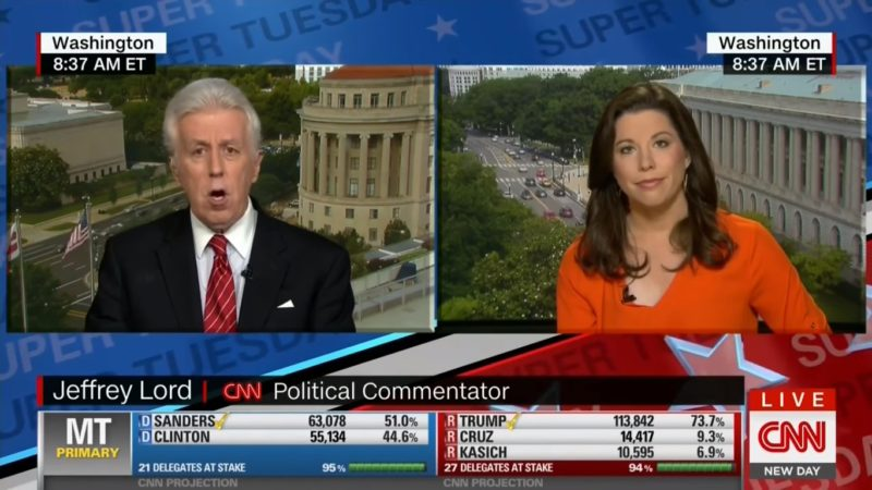 CNN's Jeffrey Lord Gets Spanked On Air Yet Again For Trying To Defend Trump's Racism
