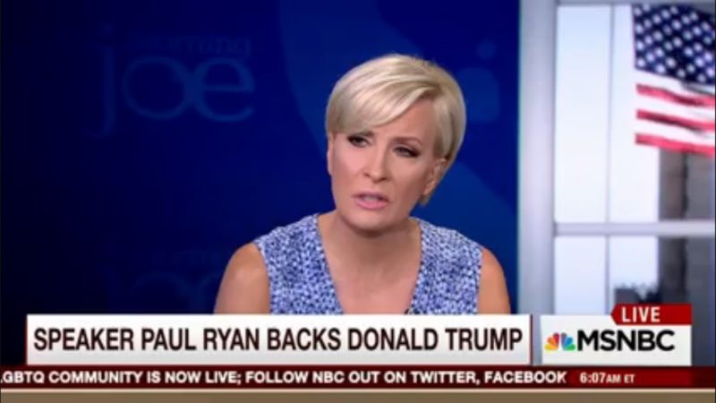 After Mika Says Paul Ryan Sold Out, Trump Tweets He's Boycotting 'Morning Joe' (Again)