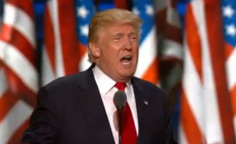Donald Trump Literally Calls For A Race War While Accepting GOP Nomination