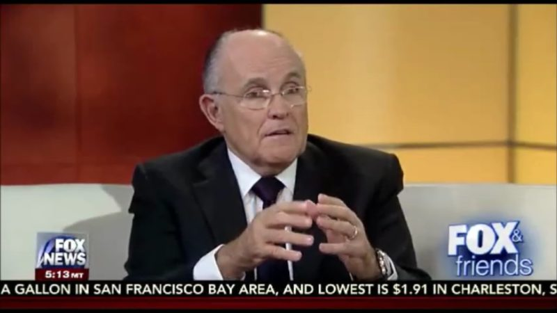 "Rudy Giuliani's Still Going: ""I Saved A Lot More Black Lives Than Black Lives Matter"""