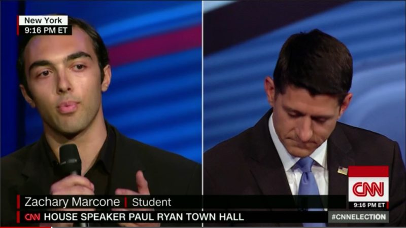 """GOP Voter To Paul Ryan: """"How Can You Morally Justify Your Support For"""" Trump?"""