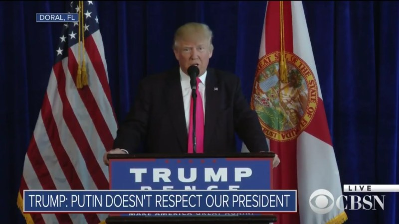 Trump Urges Russia To Cyber Attack United States, Tells Them They'll Be Rewarded
