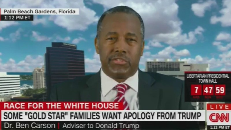 Ben Carson Wants The Khan Family To Apologize To Trump, Won't Tell Us What For