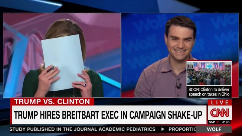 "Ex-Breitbart Editor Ben Shapiro On Trump: He's ""Like A Sharknado, Except With Poop"""