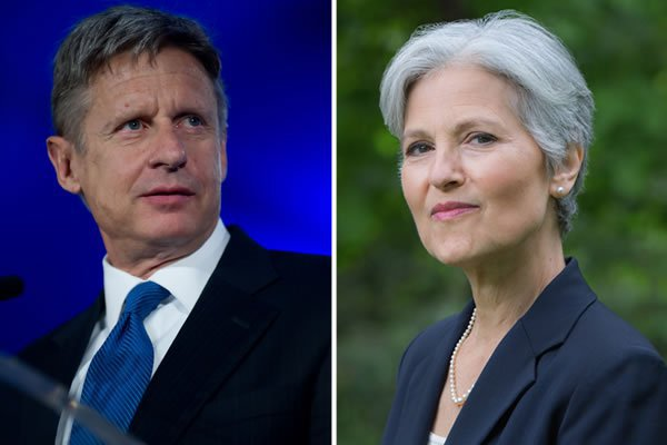 Isn't The United States A Democracy? Let Gary Johnson And Jill Stein Debate!