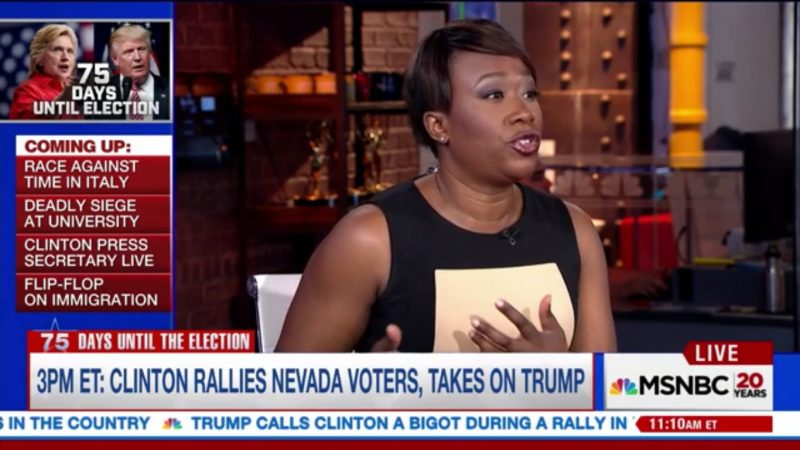 MSNBC's Joy Reid: The Alt-Right Is Just A Dressed Up, Next Generation Version Of The KKK