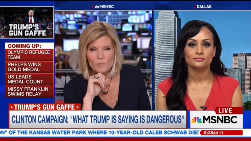 "Katrina Pierson's Logic-Defying Defense Of Trump Leaves MSNBC's Kate Snow ""Speechless"""