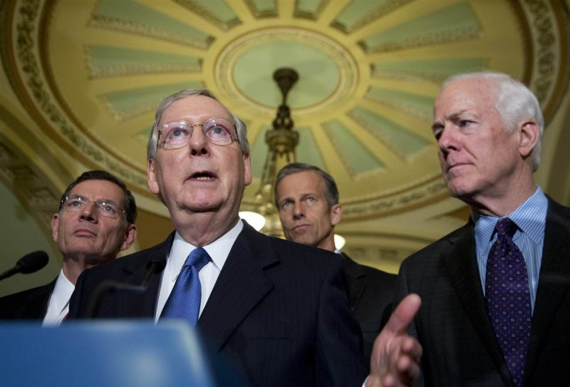 Several GOP Senators Reportedly Have 'Severe Misgivings' About McConnell's Impeachment Strategy