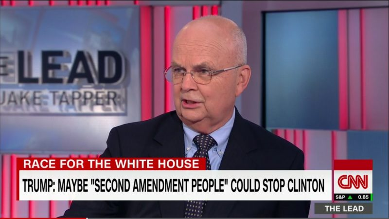 """Ex-CIA Director: Trump's A """"Clear And Present Danger,"""" Should Be In A """"Police Wagon"""""""