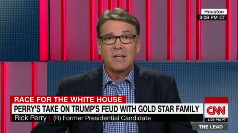 Rick Perry Has Brilliant Plan To Help Trump Rise In Polls — Attack Khan Family Some More!