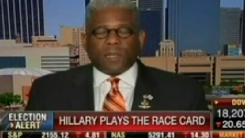Ex-GOP Congressman Allen West: Blacks Would Be Better Off If We Brought Back Segregation