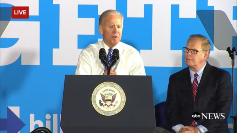 Uncle Joe Hits Trump Where It Hurts, Says He's Choking On His Silver Spoon