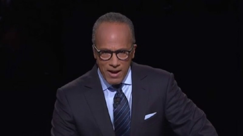 """Just Like Clockwork, Here Comes The Whining From Conservatives About """"Biased"""" Lester Holt"""