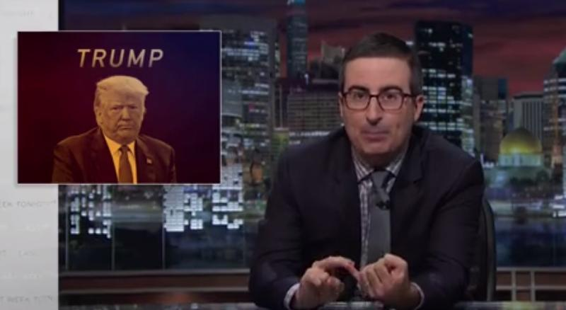 John Oliver: We Are Buried Alive In The Horror That Is This Election