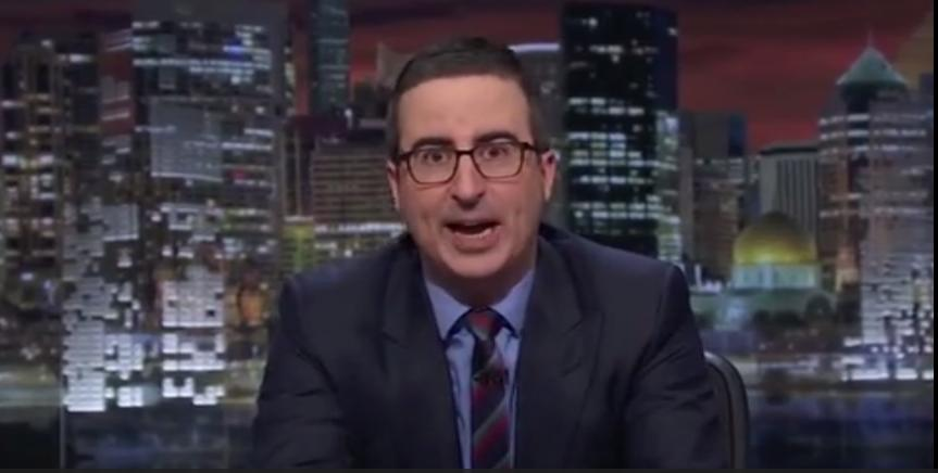 John Oliver On Election 2016: Death Would Be A Sweet, Sweet Relief