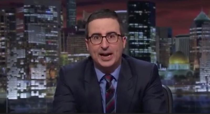 John Oliver: Matt Whitaker Is A Trump 'Toady Who Will Restrain Mueller'