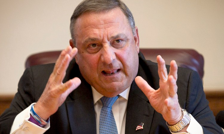 Maine Governor Paul LePage Claims The Dead Will Vote In This Year's Election